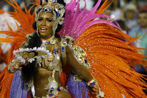 Spectacular, Sexy Samba Rings in Rio's Carnival