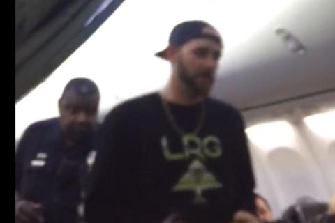 See Unruly Passenger Escorted Off Alaska Airlines Flight