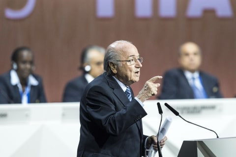 Embattled FIFA President Blatter Calls for Unity