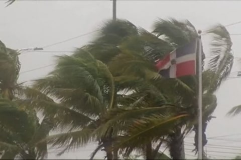Tropical Storm Erika Passes Caribbean Islands