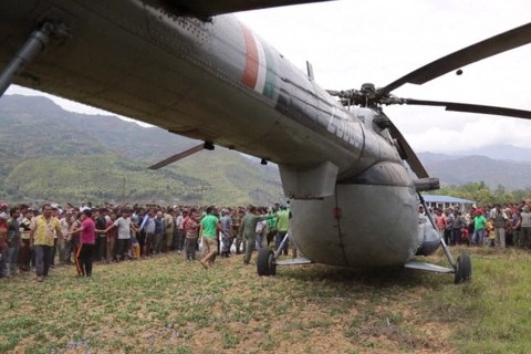 Cut-Off Nepalese Receive Vital Supplies From Indian Military