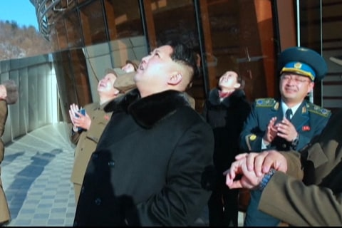 Kim Jong Un Visits Rocket Launch Site: North Korean TV