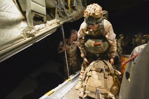 French Troops Parachute in for Boko Haram Fight
