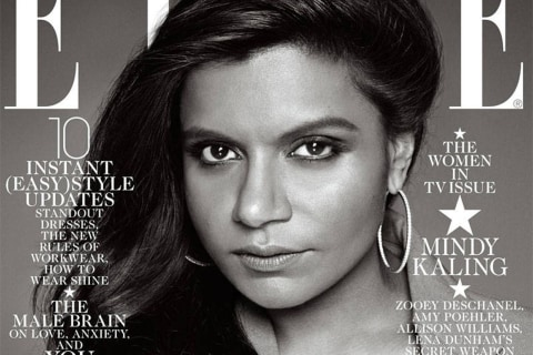 Mindy Kaling Defends Elle Cover After Backlash
