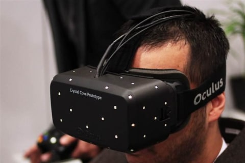 Oculus VR Unveils New Virtual-Reality Headset Prototype