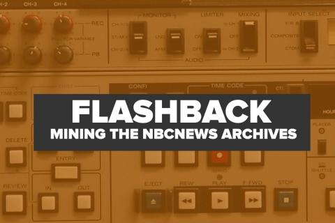 Flashback: Mining the NBC News Archive