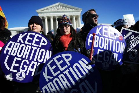 Poll: Most Latino Voters Think Women Should Have Right to Abortion