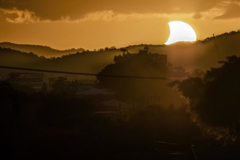 Partial Solar Eclipse Will Darken Your Thursday
