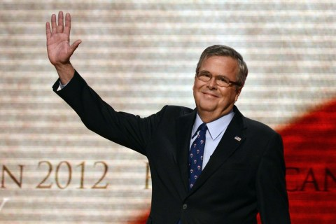 Jeb Bush: My Son 'Didn't Talk To Me' Before Making 2016 Guess