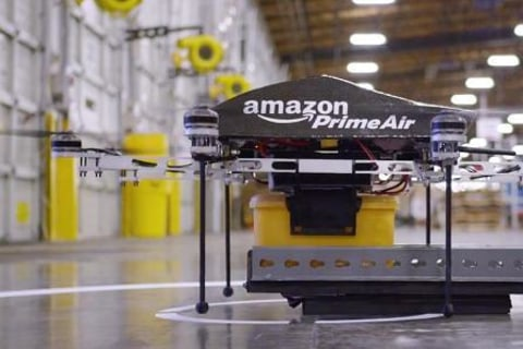 Amazon Unveils Flight Plan for Its Prime Air Delivery Drones