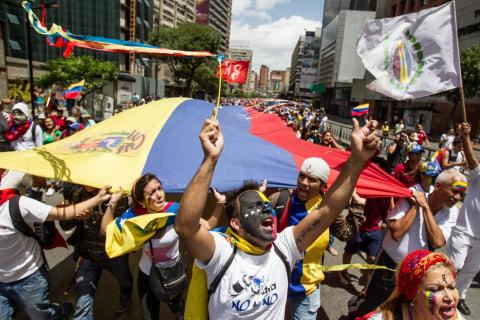 GlobalPost: A Timeline Of Venezuela's Slide Toward Near Disaster