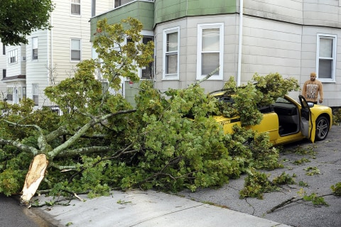 Dangerous Storms Disrupt Labor Day Festivities