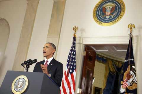 Obama Embraces Role of Commander, Not Campaigner, In Chief