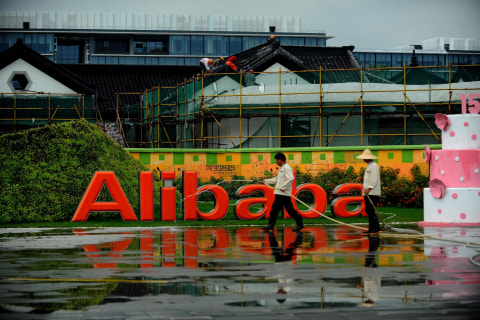 Alibaba to Raise IPO Price Range to $66-$68 Per Share, Source Says