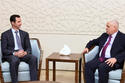 Iraq Official Briefs Syria's Bashar al-Assad on ISIS Fight