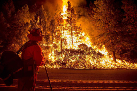 California Wildfires: Heat, Drought Hamper Fight to Save Homes