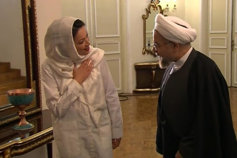 Exclusive: NBC News' Ann Curry Interviews Iranian President Hassan Rouhani