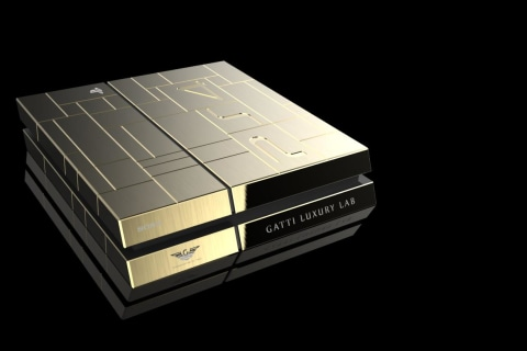 Have An Extra $14,000? You Can Buy This Gold PlayStation 4