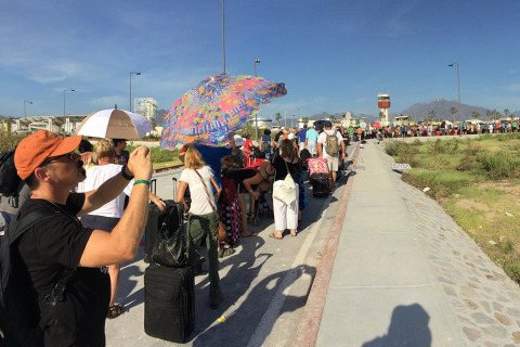 Odile Strands Thousands at Airport in Cabos San Lucas
