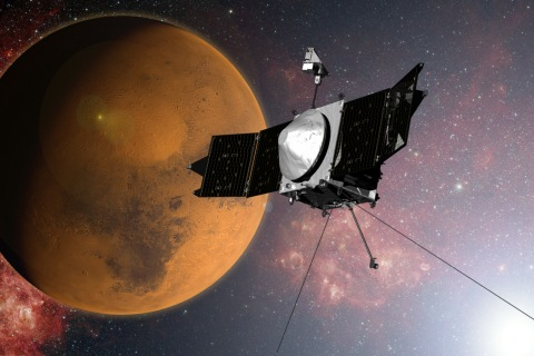 Maven and MOM Orbiters Close In on Their Moments of Truth at Mars