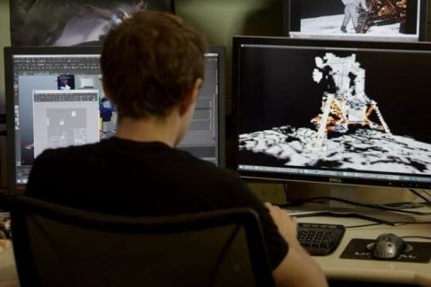 Can a Video Game Shoot Down Moon-Hoax Claims? Nvidia Thinks So