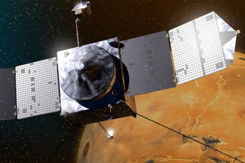 Get In on the Drama of Maven Orbiter's Arrival at Mars