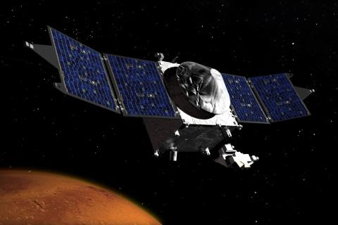 Success! NASA's Maven Probe Goes Into Orbit Around Mars
