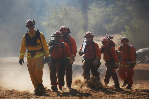 Rain, Cool Weather Helps Battle Against Huge California Wildfire