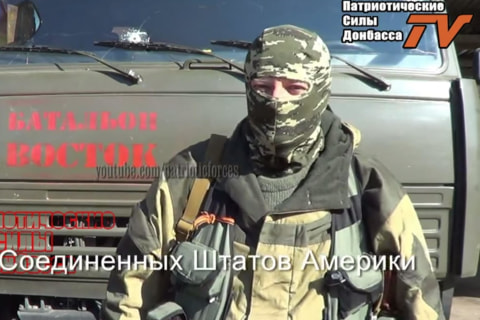 American Fighting in Ukraine? Video Shows 'Hunter from Illinois'