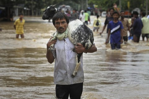 India's Northeast Ravaged by Floods