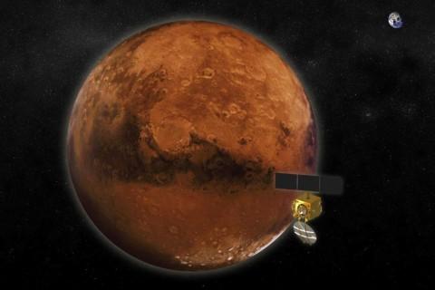 'A Shining Symbol': India's Mars Orbiter Mission Goes Into Orbit