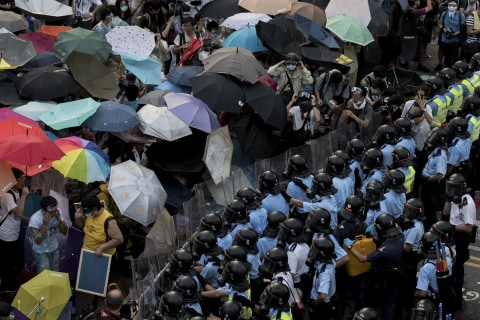 Hong Kong Activists Stare Down 'Great Firewall of China'