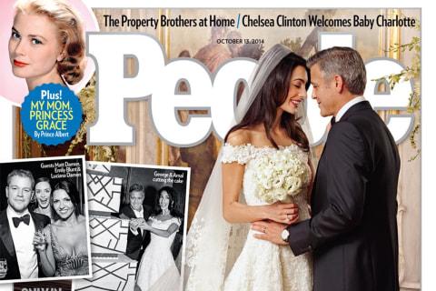 George Clooney, Amal Alamuddin's First Wedding Photos