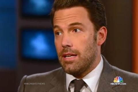 Ben Affleck Sits Down With Brian Williams Ahead of 'Gone Girl'