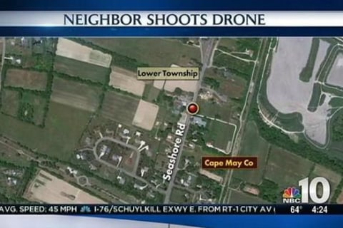 New Jersey Man Takes Shotgun to Neighbor's Snooping Drone
