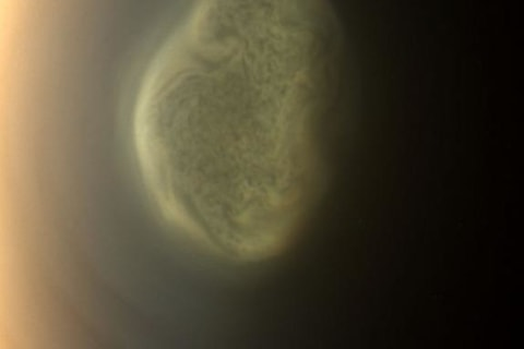 Saturn's Moon Titan Harbors Huge Cloud of Toxic Cyanide