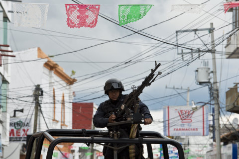 Federal Police Take Control Of 13 Towns In Mexico
