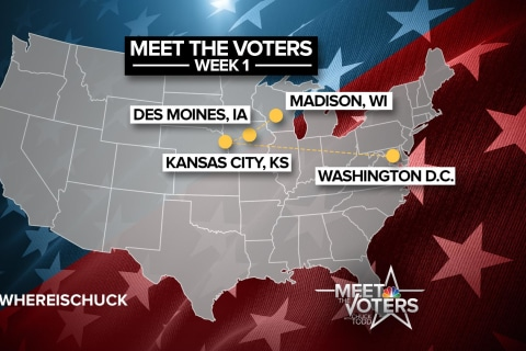 Chuck Todd Meets The Voters