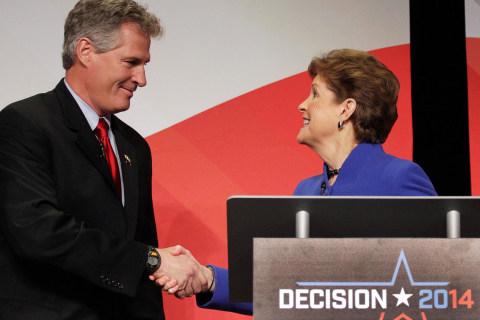 Brown and Shaheen Use Debate to Tout Moderate Records