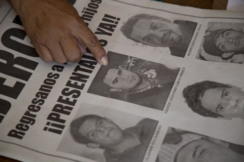Mexico: Hunt For 43 Students Puts Focus On Thousands Missing