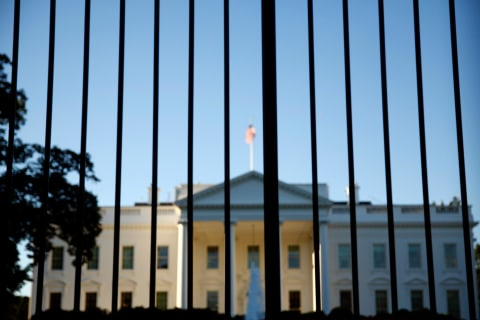 Another Man Jumps White House Fence