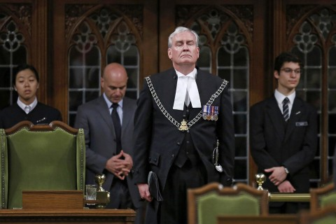 Shooting Hero Honored by Canada's Parliament