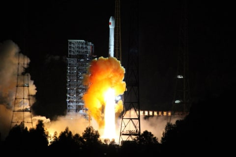 China Launches Robotic Probe on Round Trip to the Moon