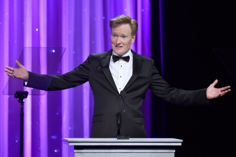 Conan O'Brien Gets Zinged by Madeleine Albright, Twitter Loves It