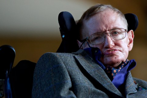 Stephen Hawking's First Facebook Message: 'Be Curious'