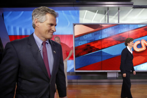 Ebola Outrage: Scott Brown Keeping Outbreak a Campaign Issue