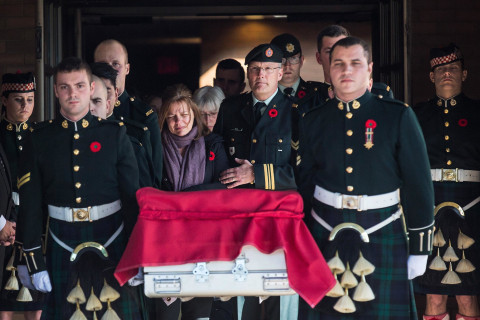 'Highway of Heroes': Slain Canadian Soldier Comes Home
