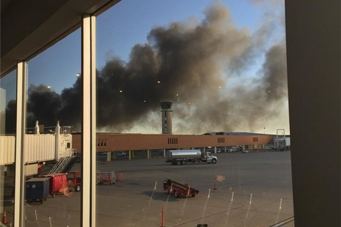 Plane Crashes Into Building at Mid-Continent Airport in Wichita