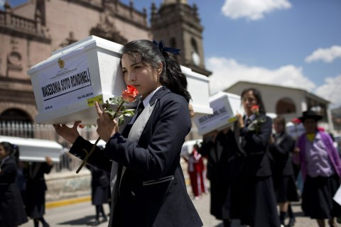 Victims of Peru's 'Dirty War' Laid to Rest