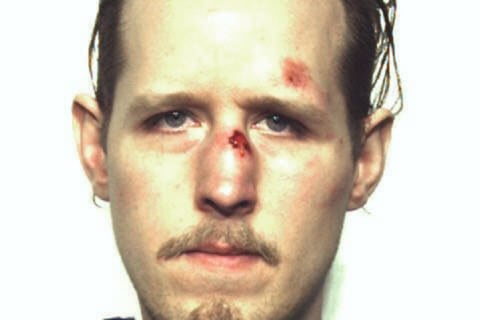 Wanted No More: Booking Photo of Eric Frein